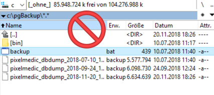 Datensicherung Windows 12