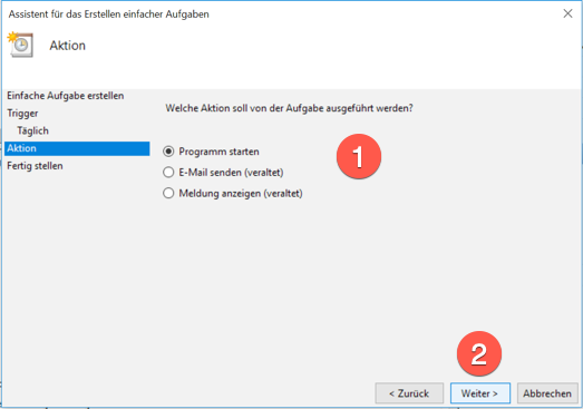 Datensicherung Windows 5